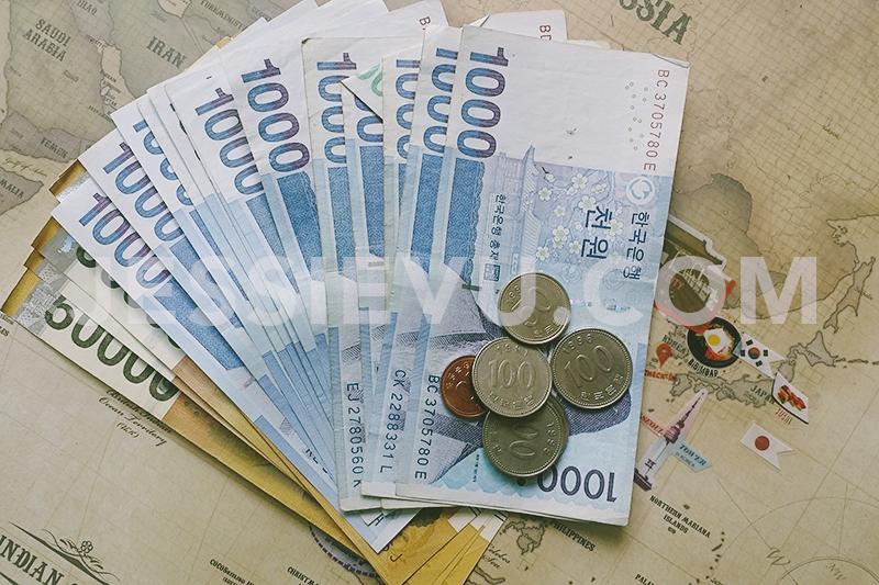 Đổi tiền Hàn Quốc