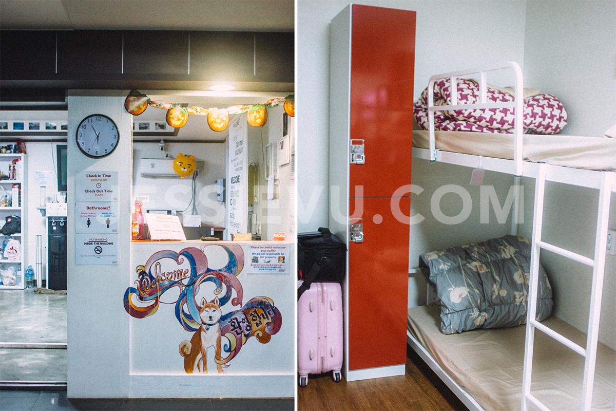 Hostel ở Busan Hàn Quốc