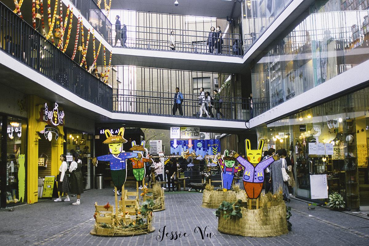 Khu tổ hợp Ssamzigil chất nghệ ở Seoul