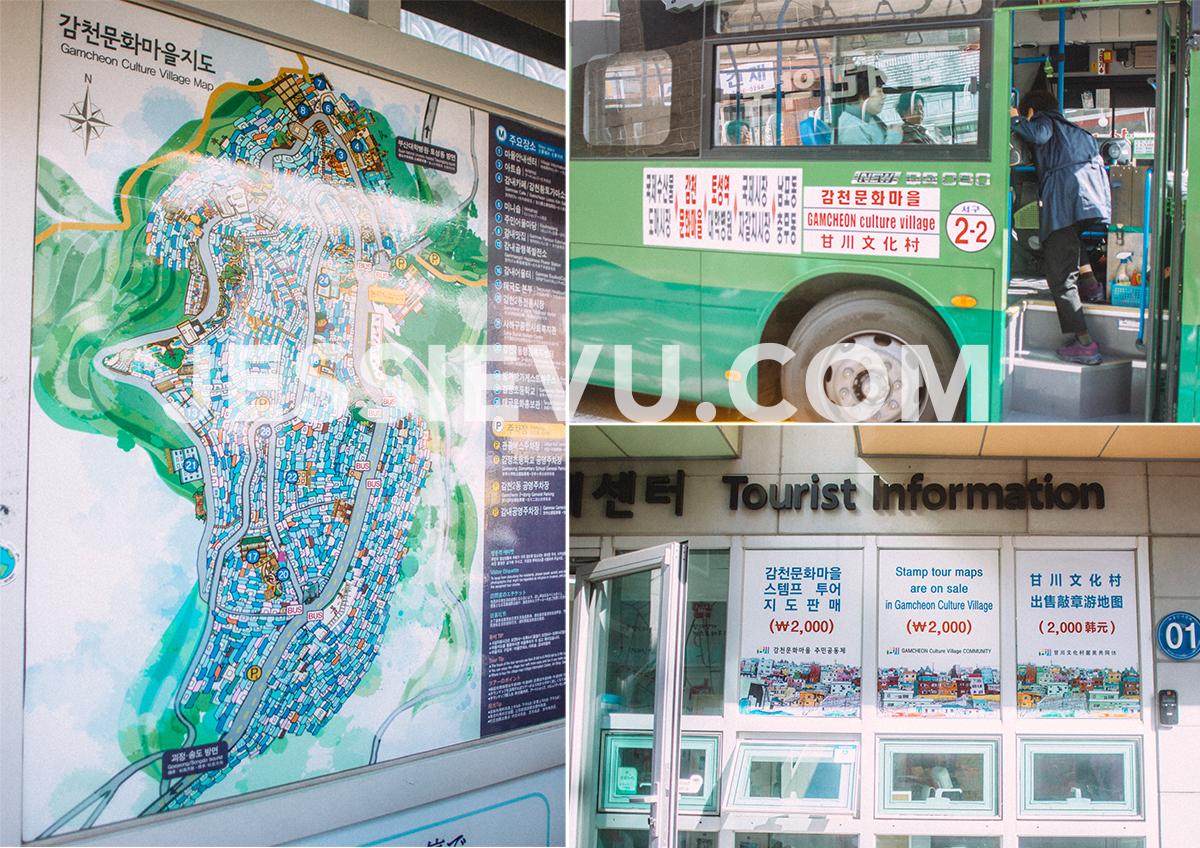 Làng văn hoá Gamcheon , Hàn Quốc