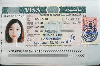 Cách làm visa Maroc