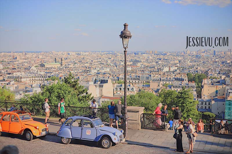 đồi montmartre Paris Pháp