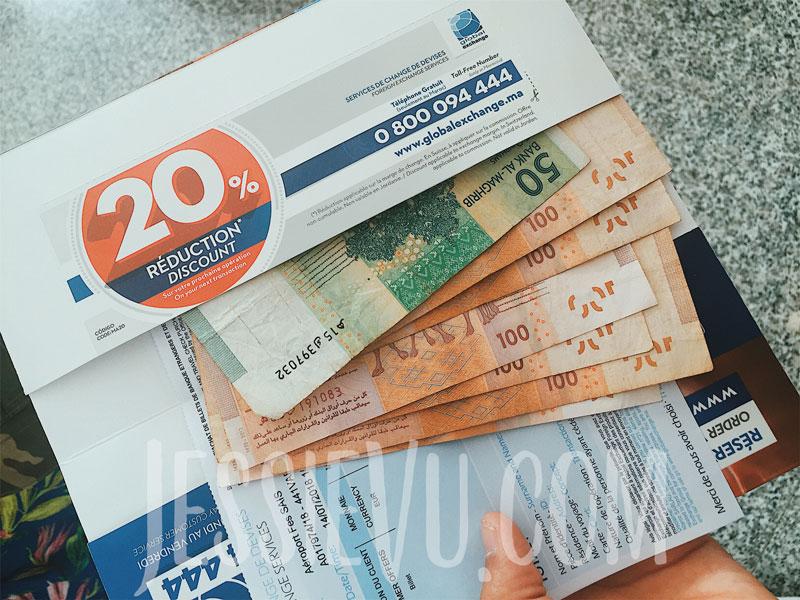 Đổi tiền Maroc