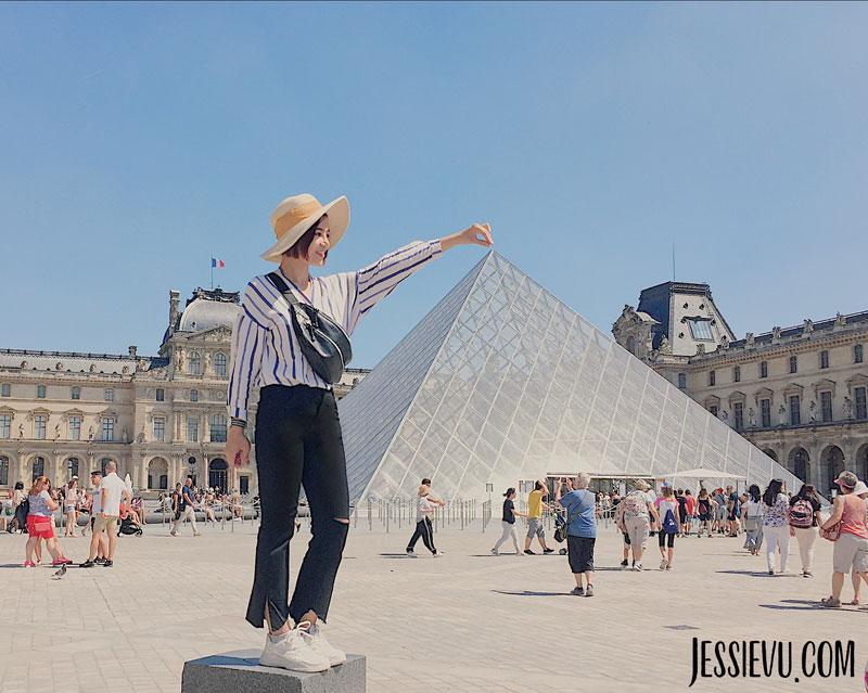 Bảo tàng Louvre ( Louver Museum )