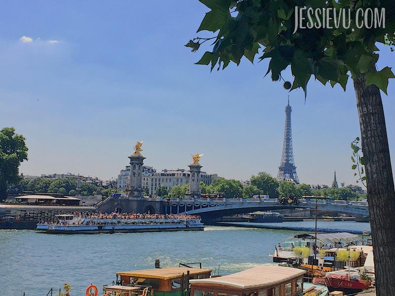 Cầu Pont de Art - Sông Seine