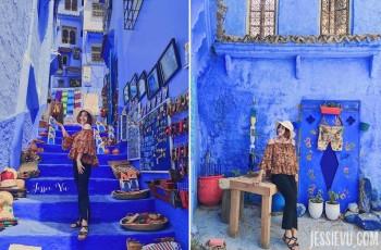 Thành phố xanh Chefchaoeun