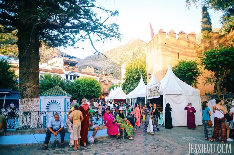 du lịch Chefchaoeun Maroc