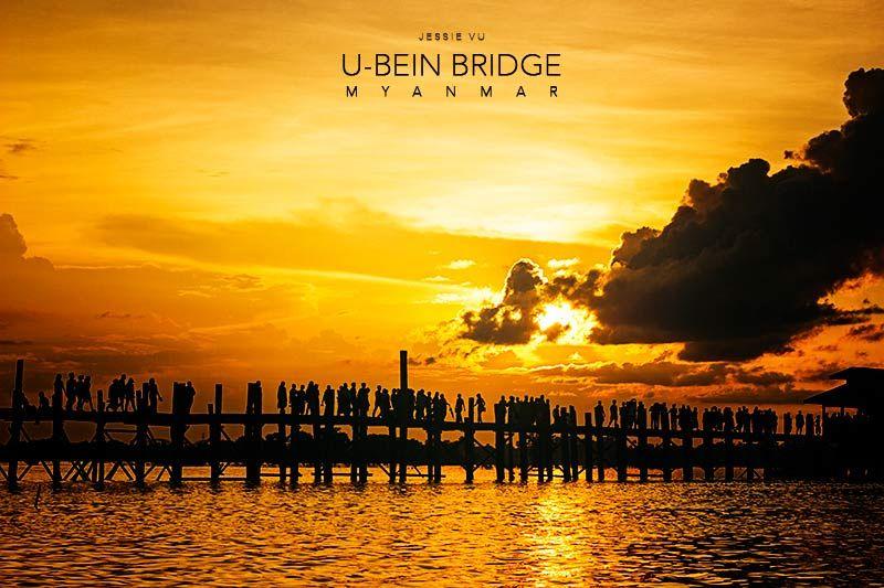 Cầu U-bein Myanmar