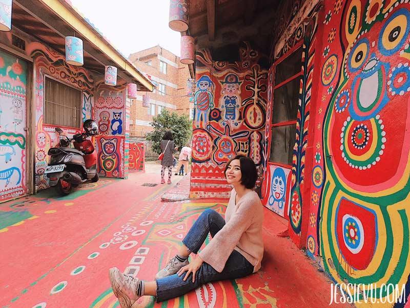 Làng Cầu Vồng Rainbow Village Đài Trung