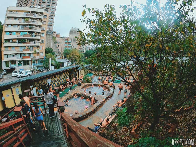 Tắm suối nước nóng đài loan Beitou