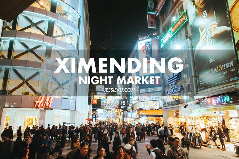 Phố đi bộ Ximending