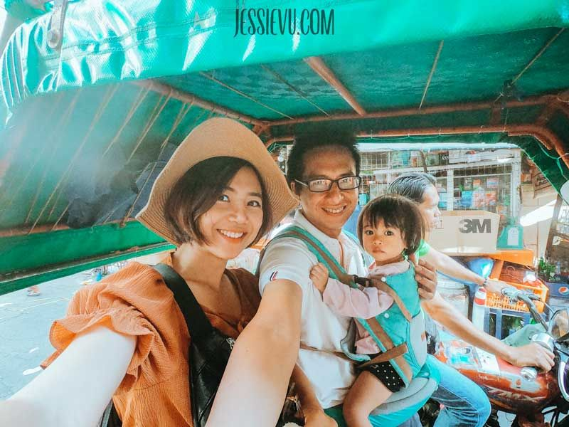 tricycle xe ba bánh Manila