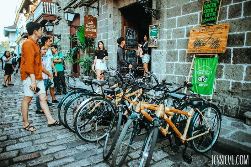 xe đạp Intramuros