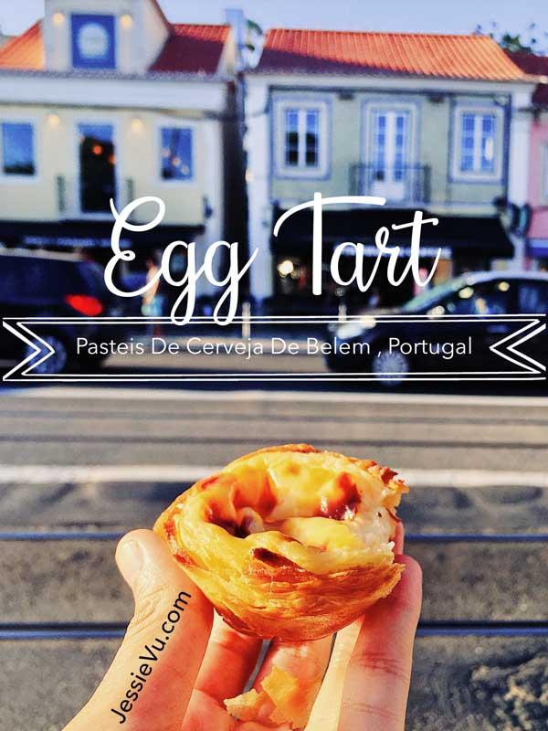 Egg Tart món ngon Bồ đào nha