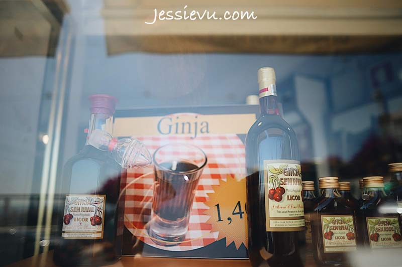 Rượu Ginja món ngon bồ đào nha