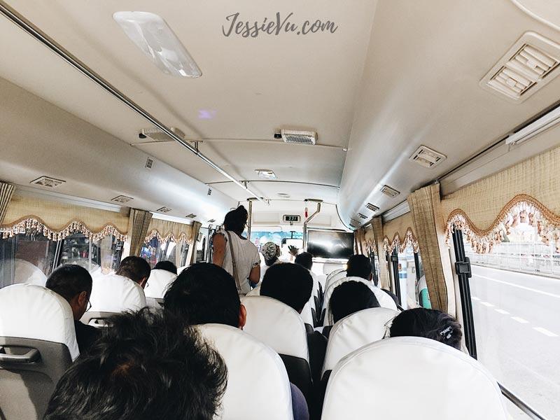 Bus từ sân bay về colombo