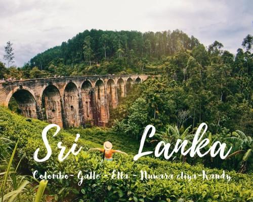 Lịch trình du lịch Sri-Lanka