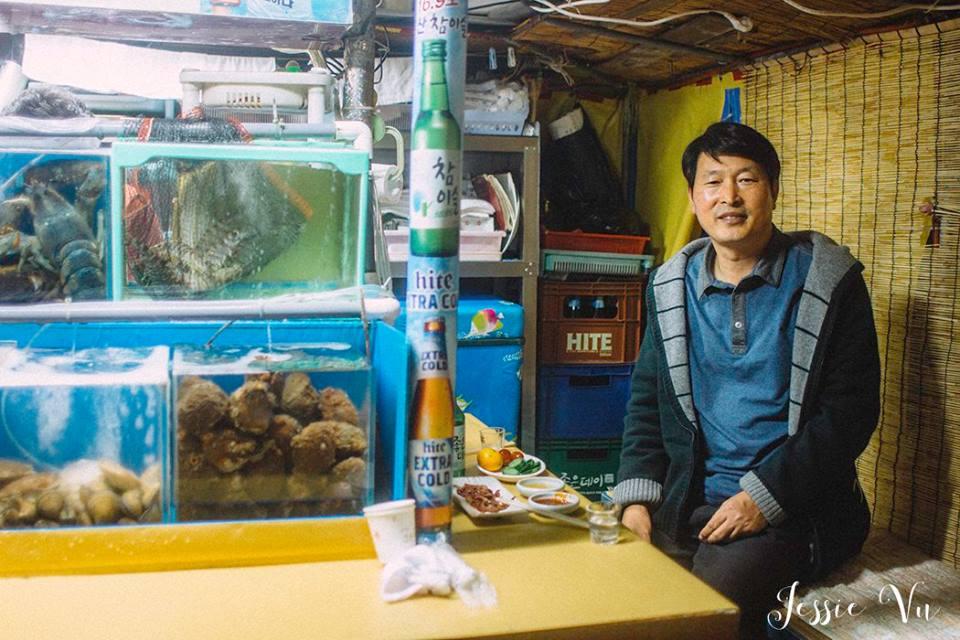 Người bạn Hàn Quốc tốt bụng ở Busan