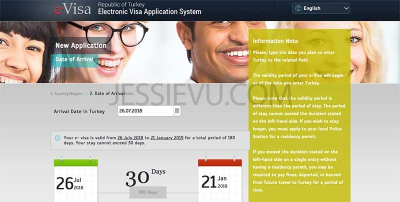 E-visa Thổ Nhĩ Kỳ