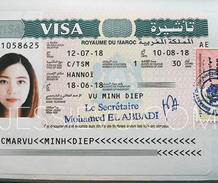 Morocco | Thủ tục xin Visa Marốc tự túc chi tiết nhất , cứ xin là đậu
