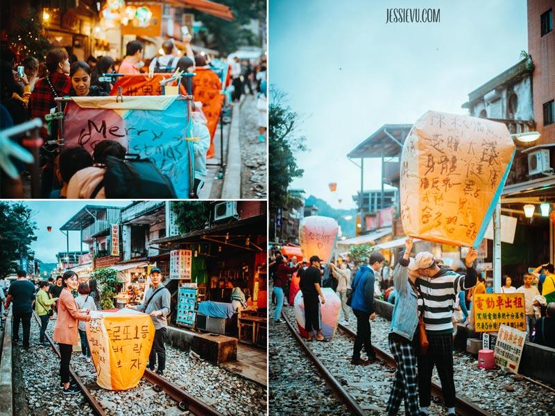 Làng Thập Phần Shifen Đài Loan