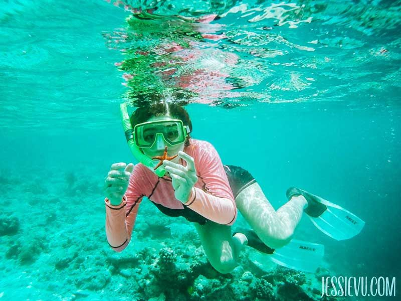 Snorkeling ở Maldives