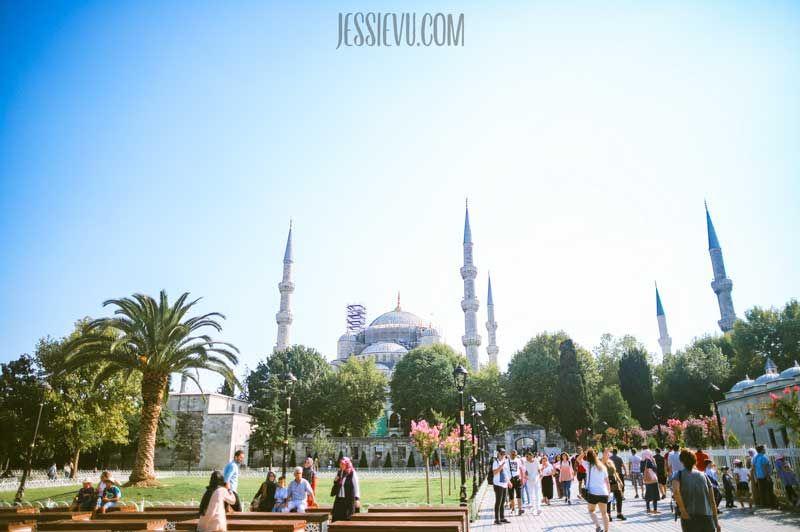 thánh đường xanh istanbul