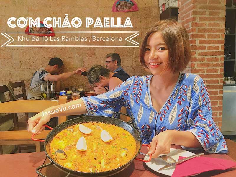 Cơm chảo Paella Tây Ban Nha