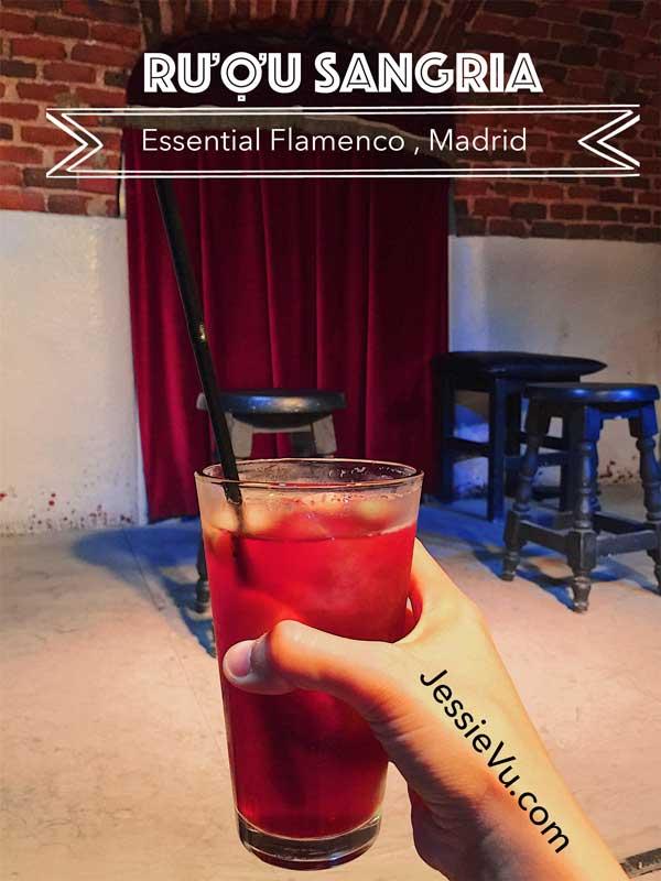 rượu sangria Tây Ban Nha