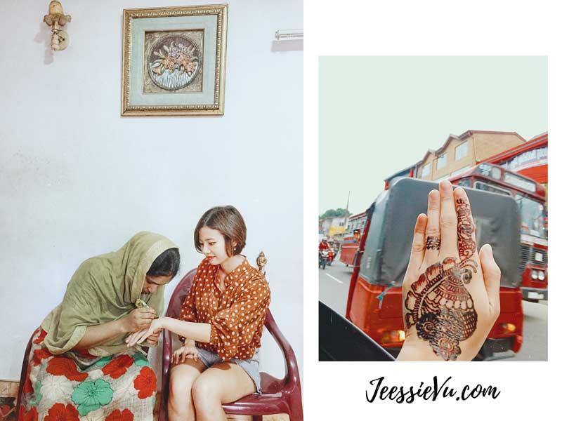 Vẽ Henna Sri-Lanka