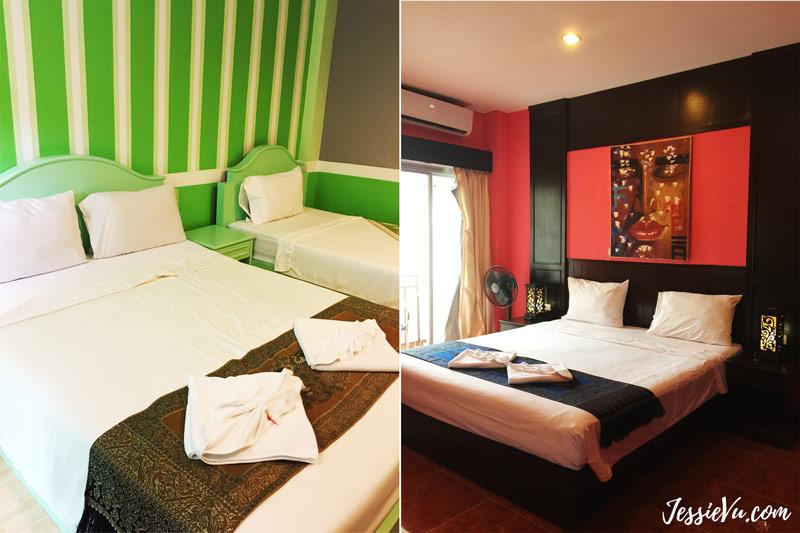 khách sạn ở khu patong , phuket thái lan