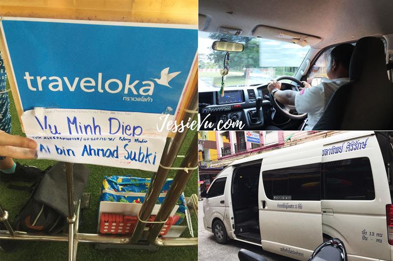 xe từ sân bay phuket về khách sạn