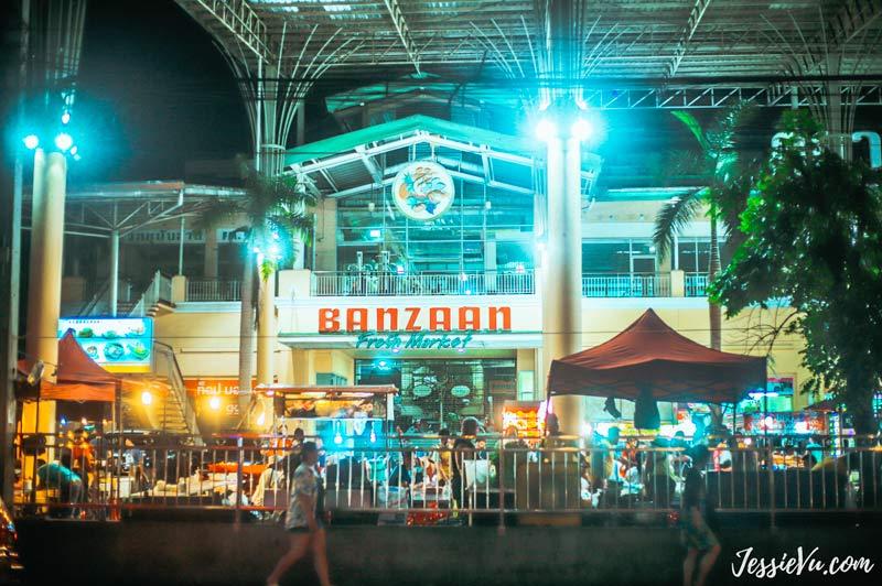 chợ đêm Banzaan Fresh Market