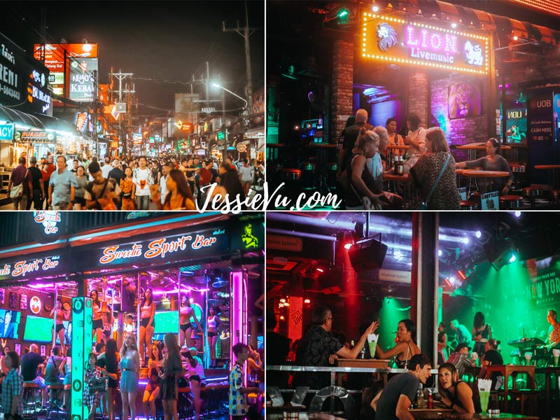 phố ăn chơi Phuket Bangla walking street