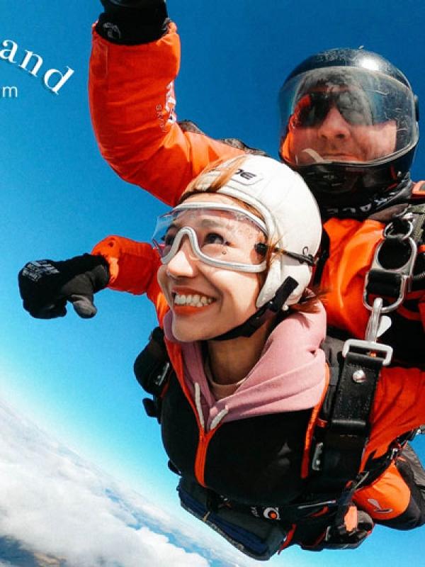 Skydive – Trải nghiệm nhảy dù thót tim ở Queenstown, New Zealand